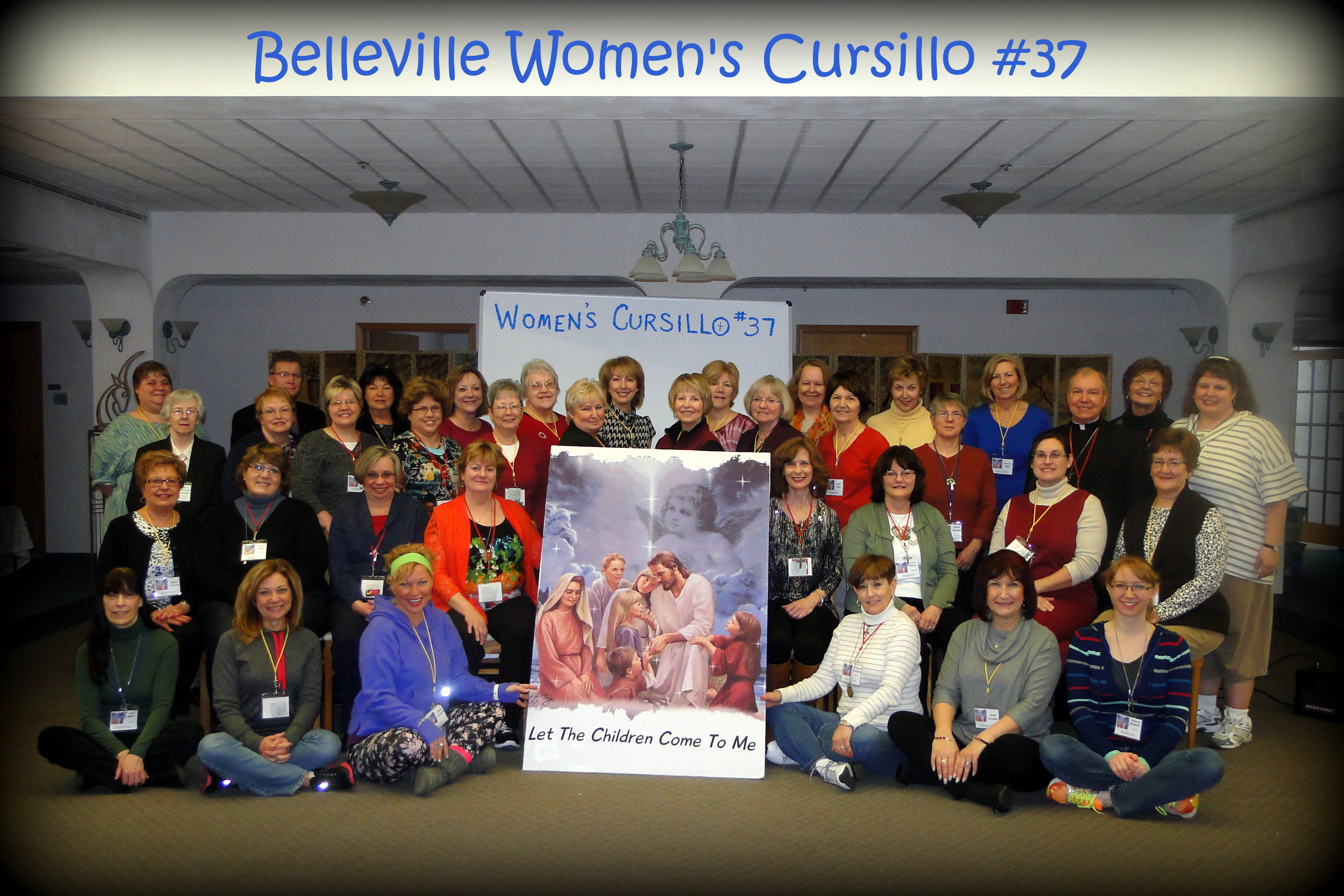 Group Picture - Women 37 Retreat